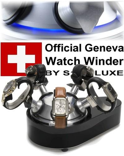 Official Geneva watch winder FIVE PIANO
