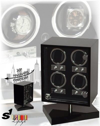 S1 Life Style watch winder Cube Panorama Alive 4