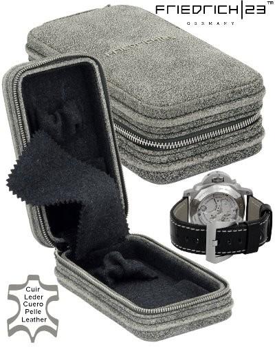 Watch box Friedrich|23 Cubano Vintage Gray S 2019