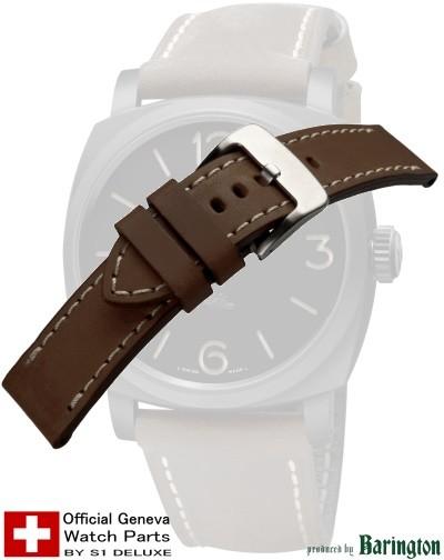 Panerai-style watch strap ROYAL AERONAUTICAL tabac 26