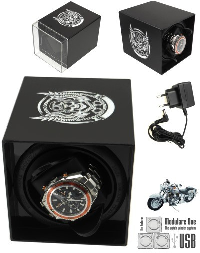 MODULARE ONE USB SKULL BIKER watch winder PRO