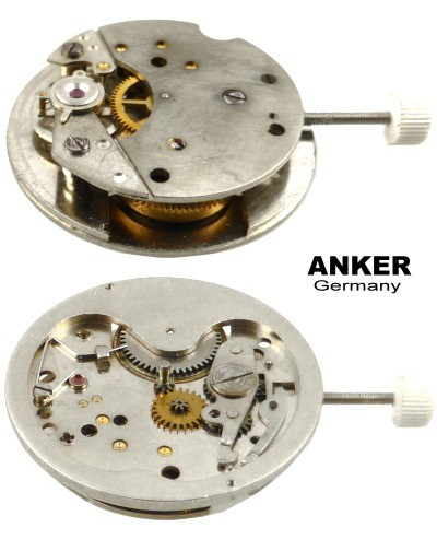 Anker manual wind watch movement 12 ligne NOS