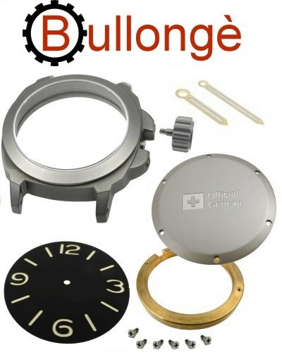 Watch kit for ETA 2824 BULLONGÈ No. 5 MILITARY